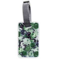 Rose Bushes Green Luggage Tags (one Side)  by snowwhitegirl
