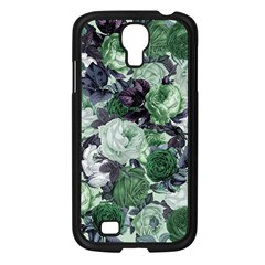 Rose Bushes Green Samsung Galaxy S4 I9500/ I9505 Case (black) by snowwhitegirl