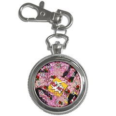 Red Retro Pop Key Chain Watches