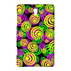 Bright Yellow Pink And Green Neon Circles Samsung Galaxy Tab S (8 4 ) Hardshell Case  by PodArtist