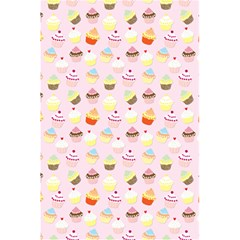 Baby Pink Valentines Cup Cakes 5 5  X 8 5  Notebooks by PodArtist