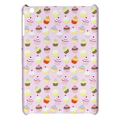 Baby Pink Valentines Cup Cakes Apple Ipad Mini Hardshell Case by PodArtist