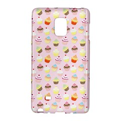 Baby Pink Valentines Cup Cakes Galaxy Note Edge by PodArtist