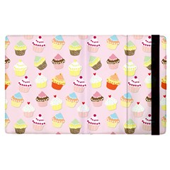 Baby Pink Valentines Cup Cakes Apple Ipad Pro 9 7   Flip Case by PodArtist