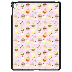 Baby Pink Valentines Cup Cakes Apple Ipad Pro 9 7   Black Seamless Case by PodArtist
