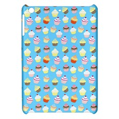 Pale Pastel Blue Cup Cakes Apple Ipad Mini Hardshell Case by PodArtist