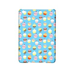 Pale Pastel Blue Cup Cakes Ipad Mini 2 Hardshell Cases by PodArtist