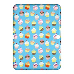Pale Pastel Blue Cup Cakes Samsung Galaxy Tab 4 (10 1 ) Hardshell Case  by PodArtist