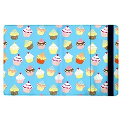 Pale Pastel Blue Cup Cakes Apple Ipad Pro 12 9   Flip Case by PodArtist