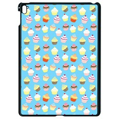 Pale Pastel Blue Cup Cakes Apple Ipad Pro 9 7   Black Seamless Case by PodArtist