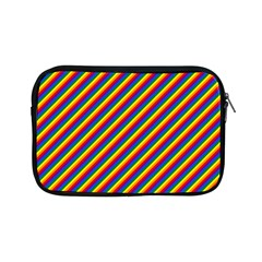 Gay Pride Flag Candy Cane Diagonal Stripe Apple Ipad Mini Zipper Cases by PodArtist
