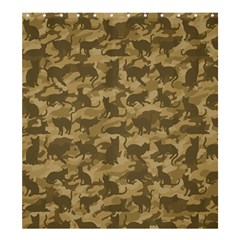 Operation Desert Cat Camouflage Catmouflage Shower Curtain 66  X 72  (large)  by PodArtist