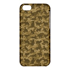 Operation Desert Cat Camouflage Catmouflage Apple Iphone 5c Hardshell Case by PodArtist