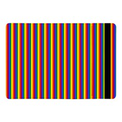 Vertical Gay Pride Rainbow Flag Pin Stripes Apple Ipad Pro 10 5   Flip Case by PodArtist