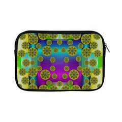 Celtic Mosaic With Wonderful Flowers Apple Ipad Mini Zipper Cases by pepitasart