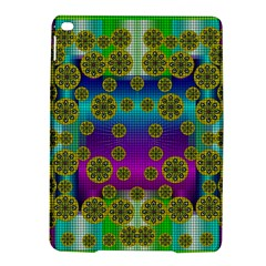 Celtic Mosaic With Wonderful Flowers Ipad Air 2 Hardshell Cases by pepitasart
