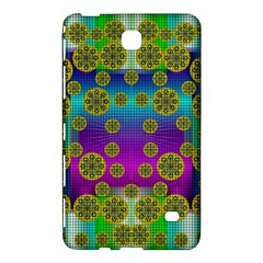Celtic Mosaic With Wonderful Flowers Samsung Galaxy Tab 4 (8 ) Hardshell Case  by pepitasart