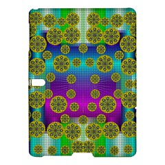 Celtic Mosaic With Wonderful Flowers Samsung Galaxy Tab S (10 5 ) Hardshell Case  by pepitasart