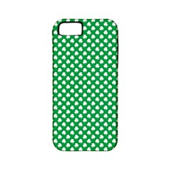 White Shamrocks On Green St  Patrick s Day Ireland Apple Iphone 5 Classic Hardshell Case (pc+silicone) by PodArtist
