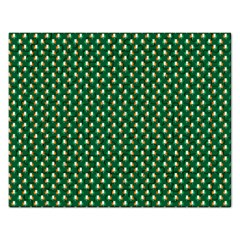 Irish Flag Green White Orange On Green St  Patrick s Day Ireland Rectangular Jigsaw Puzzl