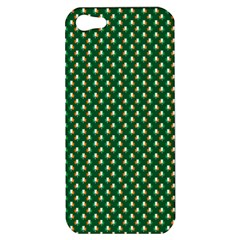 Irish Flag Green White Orange On Green St  Patrick s Day Ireland Apple Iphone 5 Hardshell Case by PodArtist
