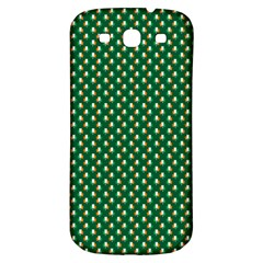 Irish Flag Green White Orange On Green St  Patrick s Day Ireland Samsung Galaxy S3 S Iii Classic Hardshell Back Case