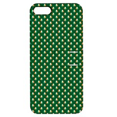 Irish Flag Green White Orange On Green St  Patrick s Day Ireland Apple Iphone 5 Hardshell Case With Stand by PodArtist