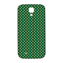 Irish Flag Green White Orange On Green St  Patrick s Day Ireland Samsung Galaxy S4 I9500/i9505  Hardshell Back Case by PodArtist