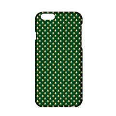 Irish Flag Green White Orange On Green St  Patrick s Day Ireland Apple Iphone 6/6s Hardshell Case by PodArtist