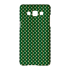 Irish Flag Green White Orange On Green St  Patrick s Day Ireland Samsung Galaxy A5 Hardshell Case  by PodArtist
