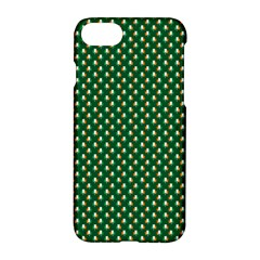 Irish Flag Green White Orange On Green St  Patrick s Day Ireland Apple Iphone 7 Hardshell Case by PodArtist
