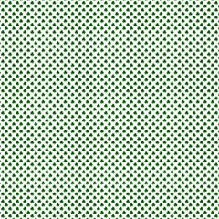 Shamrock 2 Tone Green On White St Patrick's Day Clover Canvas 12  X 12   by PodArtist