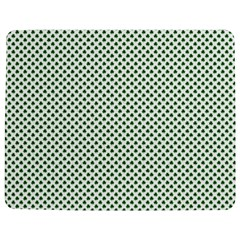 Shamrock 2 Tone Green On White St Patrick's Day Clover Jigsaw Puzzle Photo Stand (rectangular) by PodArtist