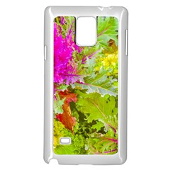 Colored Plants Photo Samsung Galaxy Note 4 Case (white) by dflcprints