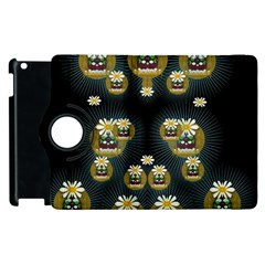 Bats In Caves In Spring Time Apple Ipad 2 Flip 360 Case by pepitasart