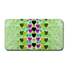 Summer Time In Lovely Hearts Medium Bar Mats by pepitasart