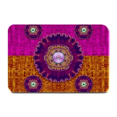 Viva Summer Time In Fauna Plate Mats by pepitasart