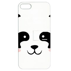 Panda  Apple Iphone 5 Hardshell Case With Stand