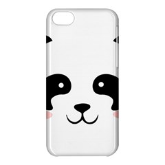 Panda  Apple Iphone 5c Hardshell Case by Valentinaart