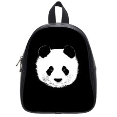 Panda  School Bag (small) by Valentinaart