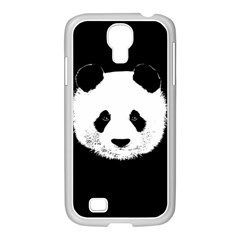 Panda  Samsung Galaxy S4 I9500/ I9505 Case (white) by Valentinaart