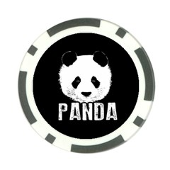 Panda  Poker Chip Card Guard (10 Pack)