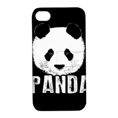 Panda  Apple Iphone 4/4s Hardshell Case With Stand