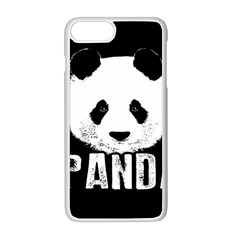Panda  Apple Iphone 8 Plus Seamless Case (white) by Valentinaart