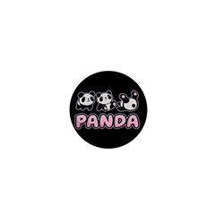 Panda  1  Mini Buttons by Valentinaart