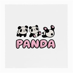 Panda  Medium Glasses Cloth (2 Side) by Valentinaart