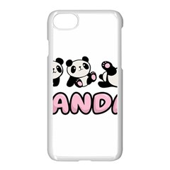 Panda  Apple Iphone 8 Seamless Case (white)