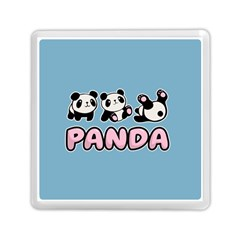 Panda  Memory Card Reader (square)  by Valentinaart