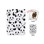 Panda pattern Playing Cards (Mini)  Back