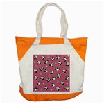 Panda pattern Accent Tote Bag Front